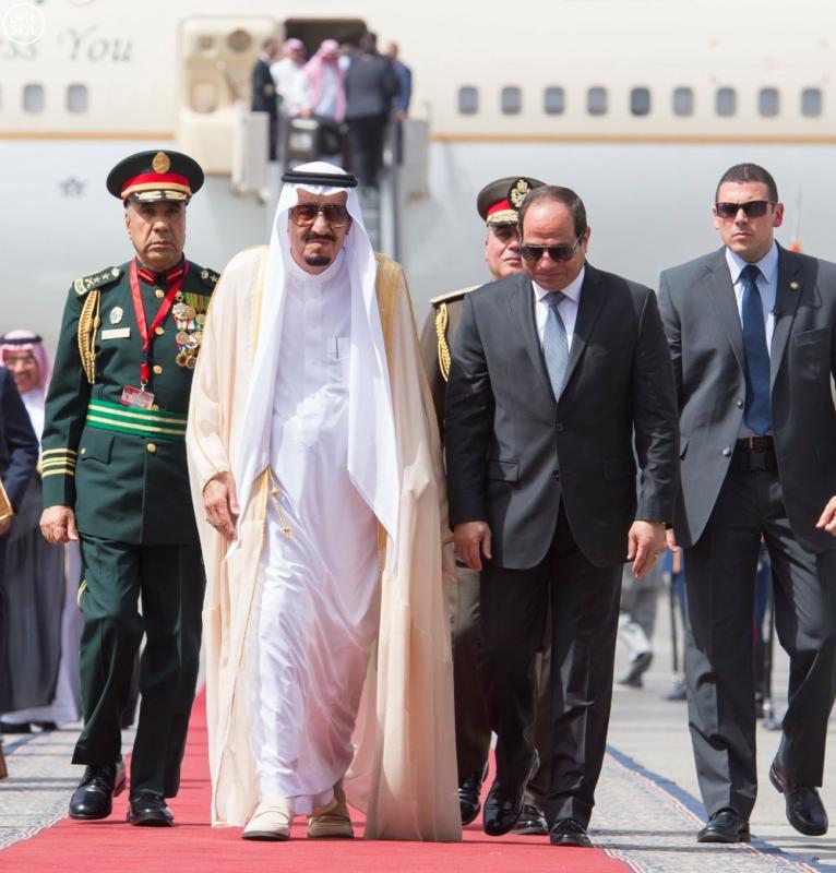 الملك يصل الى مصر4