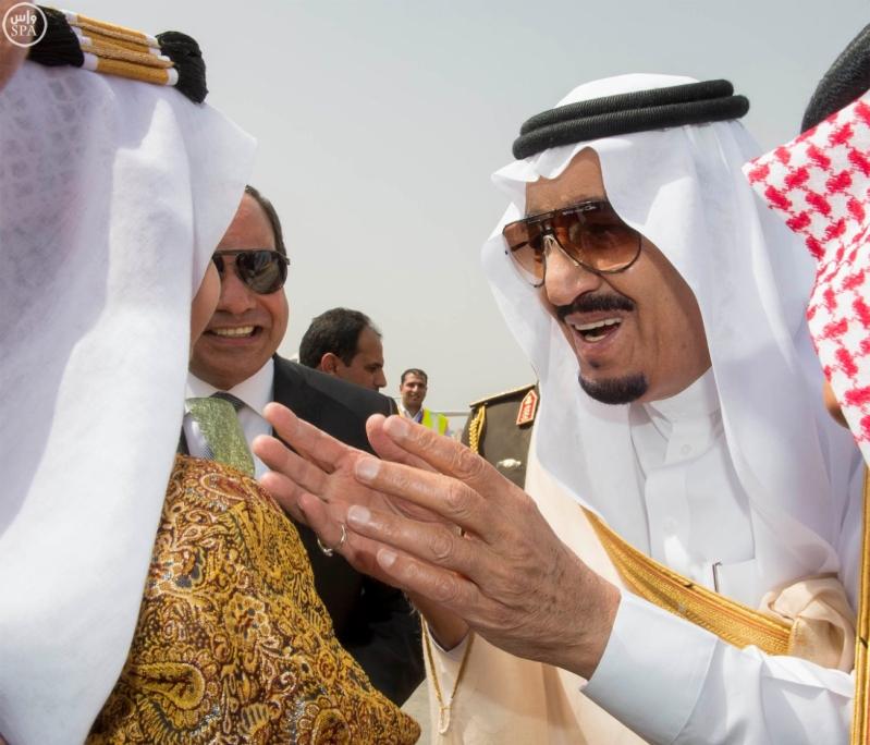 الملك يصل الى مصر5