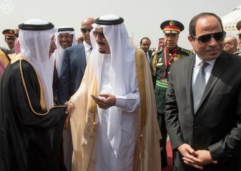الملك يصل الى مصر7