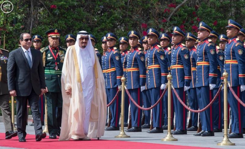 الملك يصل الى مصر9