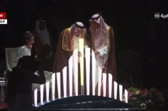 الملك يضع حجر الأساس لمشروع القدية وجهة المملكة الجديدة 3