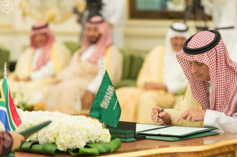 الملك يعقد جلسة مباحثات7