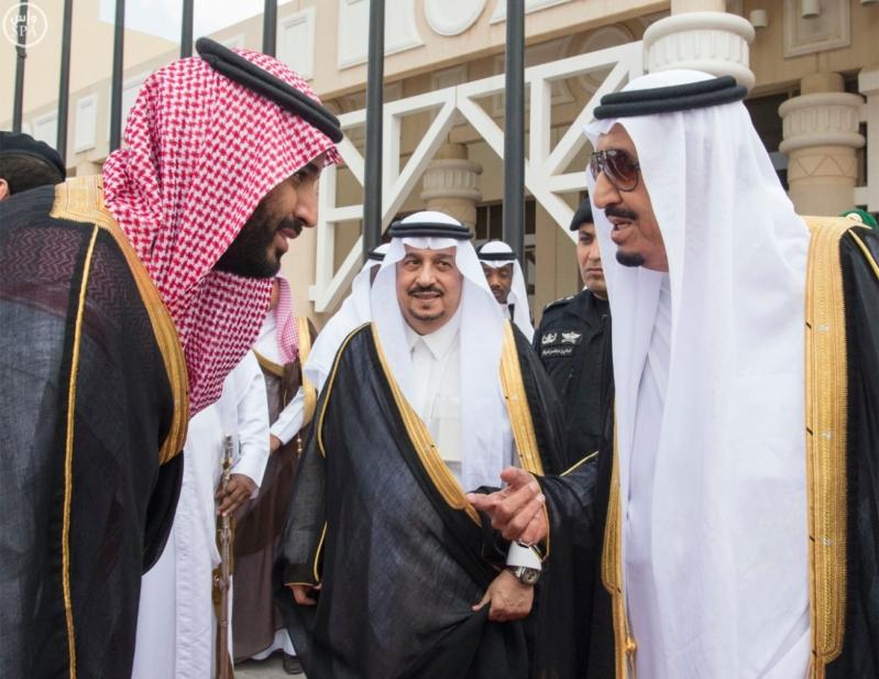 الملك يغادر الرياض متوجها الى جدة