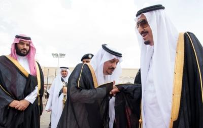 الملك يغادر الرياض متوجها الى جدة1