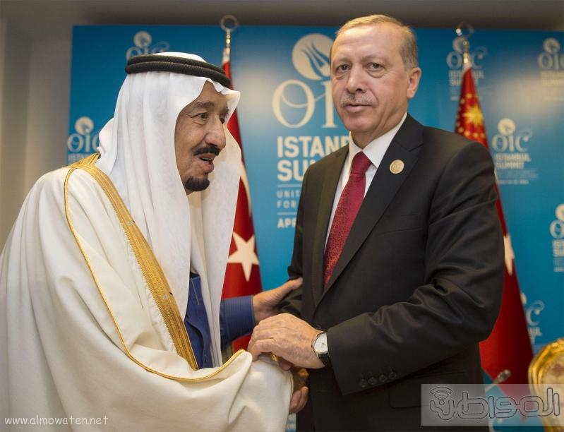 الملك يغادر تركيا4