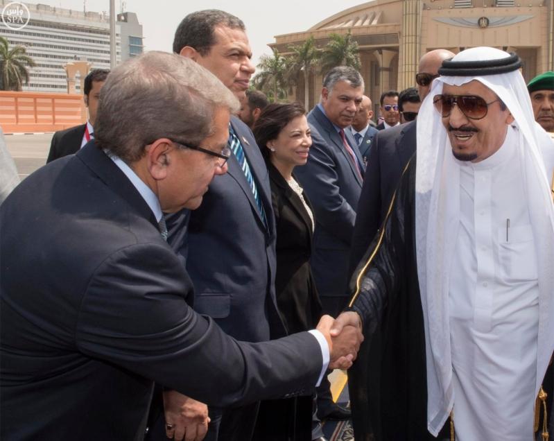 الملك يغادر مصر 1