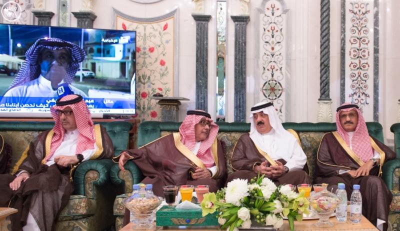 الملك يَسْتقْبل رئيس هيئة الأركان الباكستانية ووزيري الشؤون الإسلامية والحج14