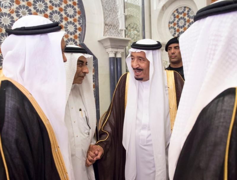 الملك يَسْتقْبل رئيس هيئة الأركان الباكستانية ووزيري الشؤون الإسلامية والحج2
