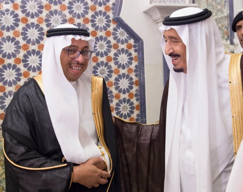 الملك يَسْتقْبل رئيس هيئة الأركان الباكستانية ووزيري الشؤون الإسلامية والحج3