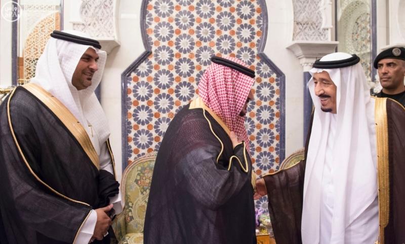 الملك يَسْتقْبل رئيس هيئة الأركان الباكستانية ووزيري الشؤون الإسلامية والحج4