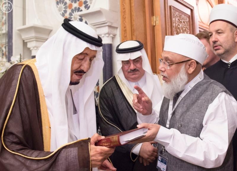 الملك يَسْتقْبل رئيس هيئة الأركان الباكستانية ووزيري الشؤون الإسلامية والحج9
