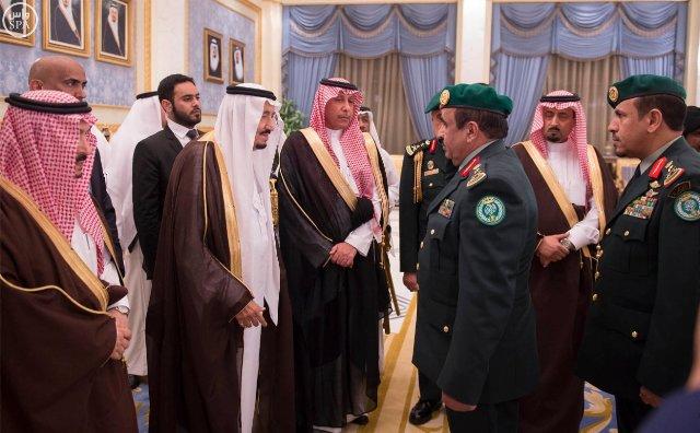 #الملك_سلمان يصل #الرياض (3)