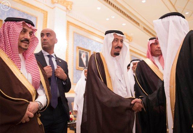 #الملك_سلمان يصل #الرياض (5)