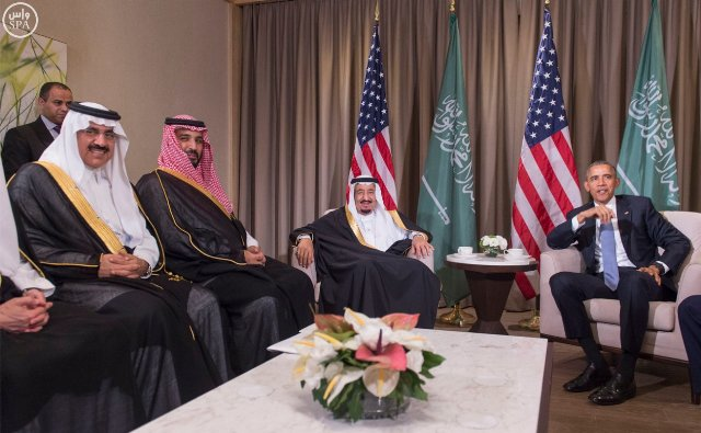 #الملك_سلمان يلتقي الرئيس الأمريكي (4)