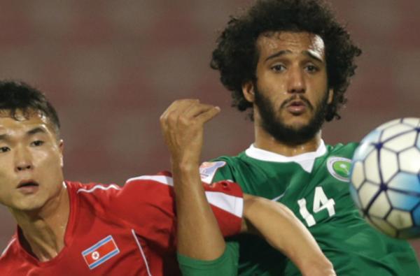 المنتخب الاولمبي السعودي وكوريا الشمالية