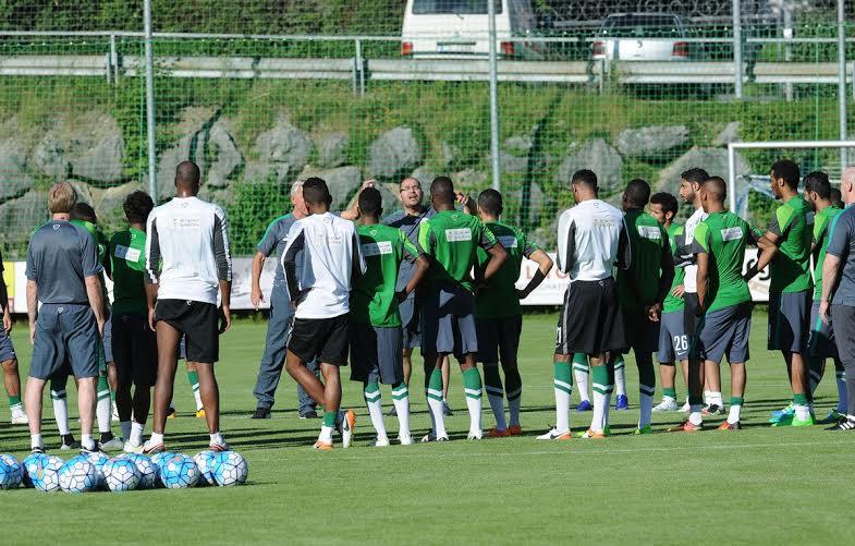 المنتخب السعودي يتدرب في النمسا (316024182) 
