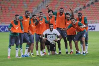 بالصور.. المنتخب السعودي يخوض تدريبه الأخير قبل مواجهة أستراليا - المواطن