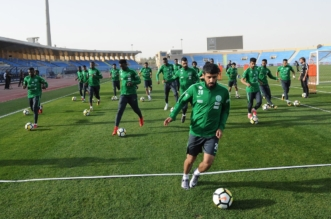 بالصور.. الأخضر يواصل تدريباته وفحوصات للاعبين - المواطن