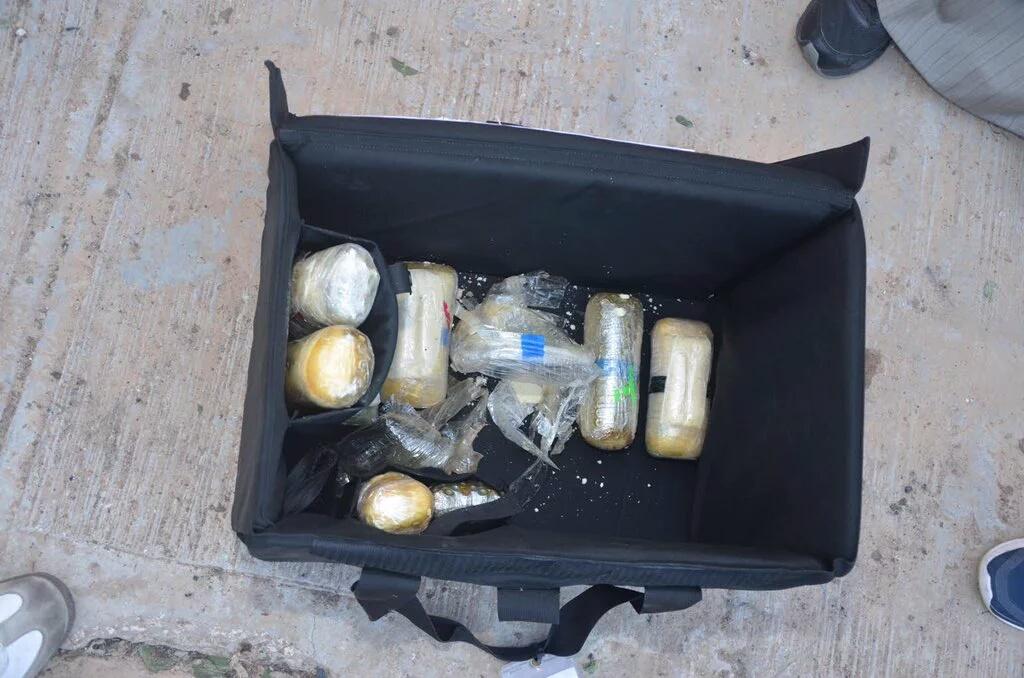 المواد المتفجرة بحادث تفجير مسجد الرضا بالاحساء (1)