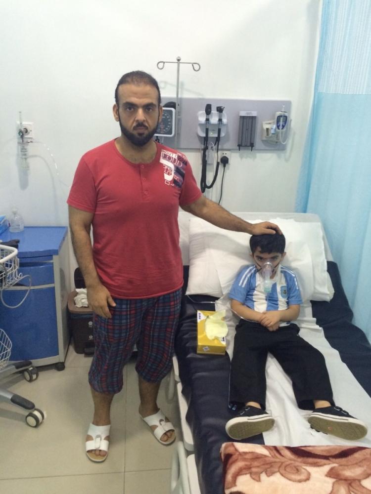 المواطن الذي طردته مستشفى الجوف