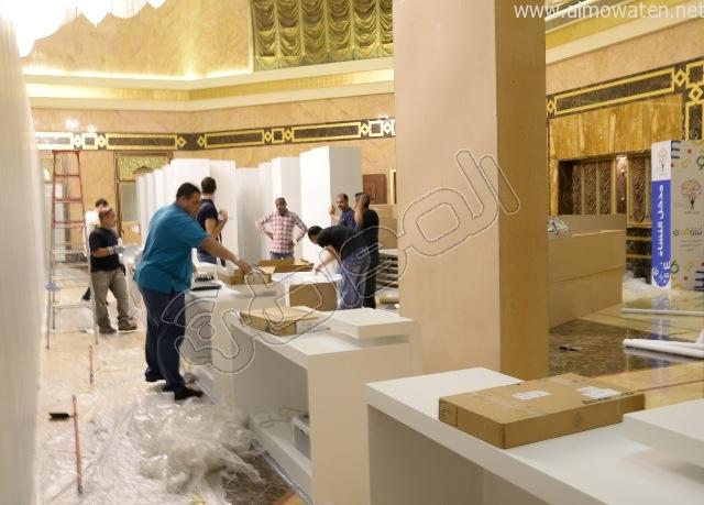 المواطن ترصد اللمسات النهائية لتجهيزات ملتقى الإعلام المرئي #شوف (11)