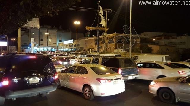 المواطن ترصد طريق أبها- الخميس بعد إغلاقه بسبب صيانة جسر المشاة (10)