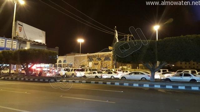 المواطن ترصد طريق أبها- الخميس بعد إغلاقه بسبب صيانة جسر المشاة (2)