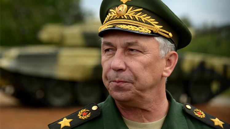 النائب الأول لوزير الدفاع مارشال القوات البرية أركادي باخين