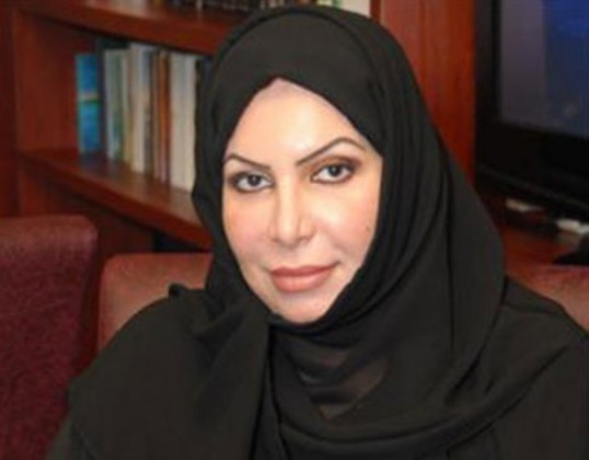 """الناشطة السعودية المعروفة """"سعاد الشمري"""""""