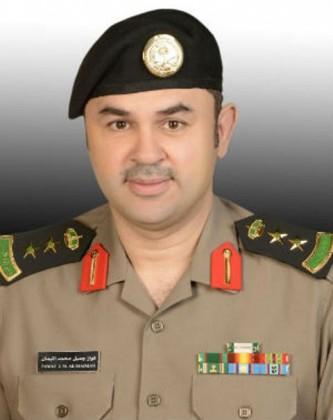 الناطق الإعلامي بشرطة منطقة الرياض العقيد فواز بن جميل الميمان