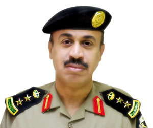 الناطق الإعلامي بشرطة منطقة حائل العقيد عبدالعزيز الزنيدي