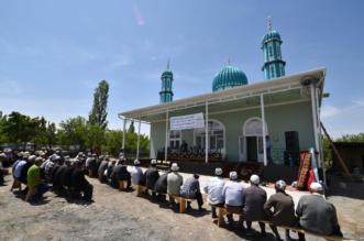 الندوة العالمية تفتتح مسجداً بمنطقة جانجير القيرغيزية - المواطن