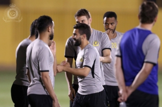 النصر يواصل تدريباته.. وفوزير وجابو يكتفون بالجري حول الملعب - المواطن