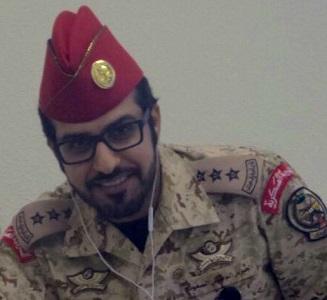 النقيب سهيل بن سعود الشيباني بهيئة طيران الحرس الوطني