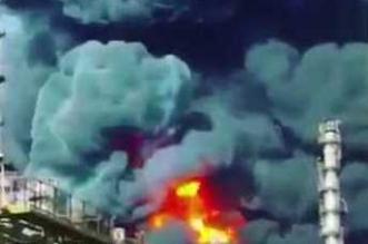 بالفيديو.. النيران تشتعل مُجّدداً في مُجمّع البتروكيماويات بإيران - المواطن