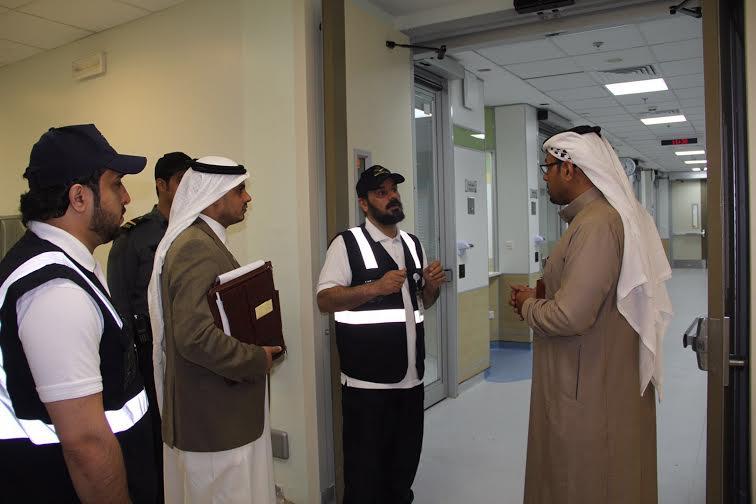 الهبدان يتفقد مستشفى أبها للولادة والأطفال3