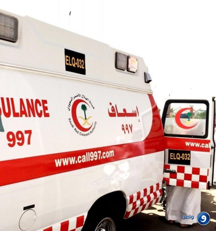 إصابات حرجة لشخصين في حادث تصادم قرب القريات