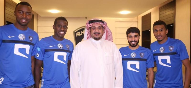 الهلال يواصل تدريباته بمشاركة هوساوي وحضور رئيس النادي (269614289) 