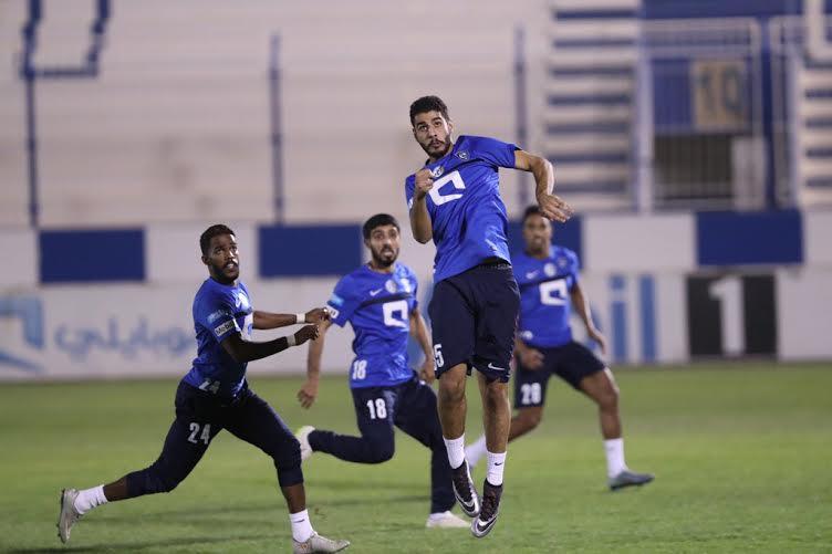 الهلال يواصل تدريباته بمشاركة هوساوي وحضور رئيس النادي (269614292) 