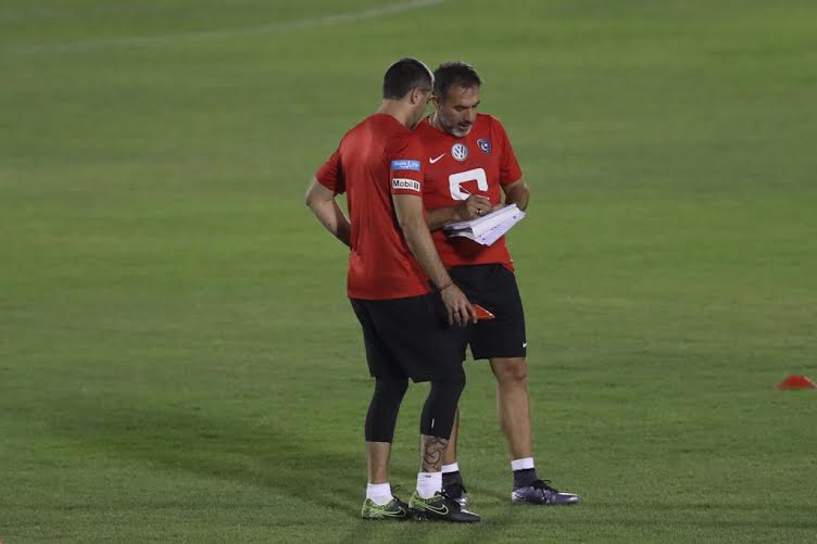 الهلال يواصل تدريباته بمشاركة هوساوي وحضور رئيس النادي (269614296) 