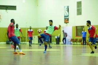 بالصور.. الوحدة يتدرب في صالة محمد عبده - المواطن