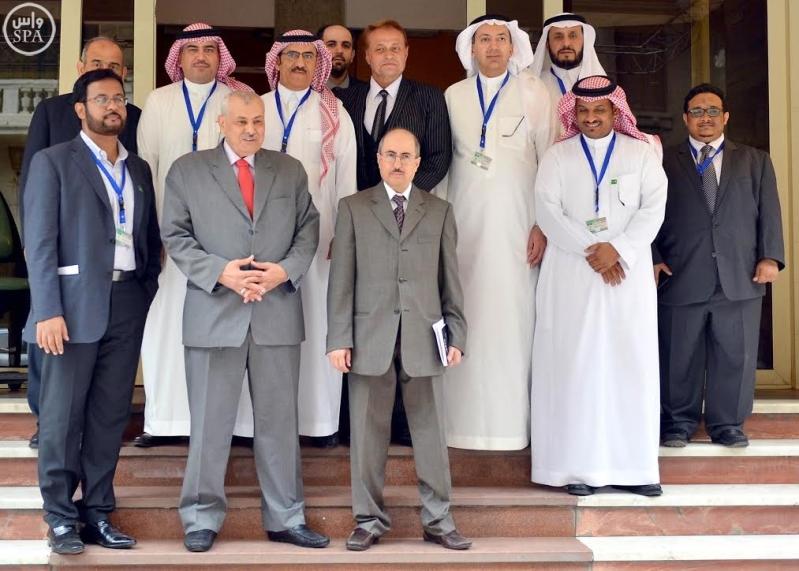 الوفد الاعلامي يزور وكالة الشرق الاوسط