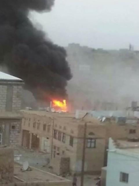 الجيش اليمني يقصف مخزنًا للذخيرة والأسلحة في صعدة - المواطن