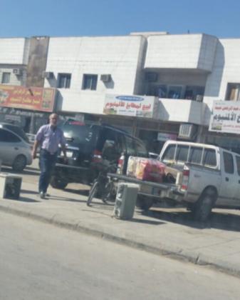 امانة الرياض تخلي طرقات حراج بن قاسم من الباعة الجائلين