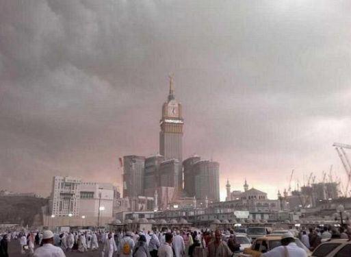 #الأرصاد : سُحب رعدية ممطرة ورياح سطحية على #مكة والمشاعر - المواطن
