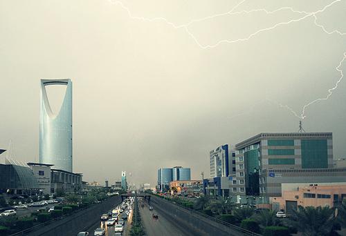 امطار الرياض المملكة