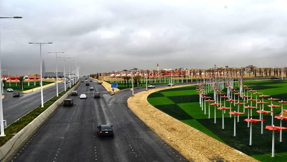 امطار الرياض طريق العروبه