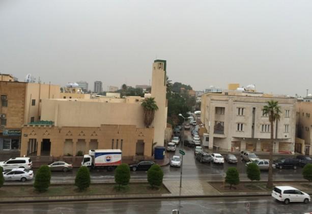 امطار الرياض مناطق