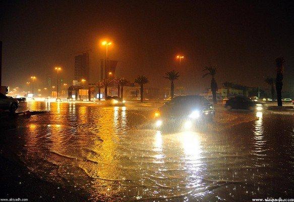امطار الرياض 6