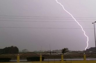 عواصف ترابيّة وأمطار متفرقة على محافظات جازان  - المواطن